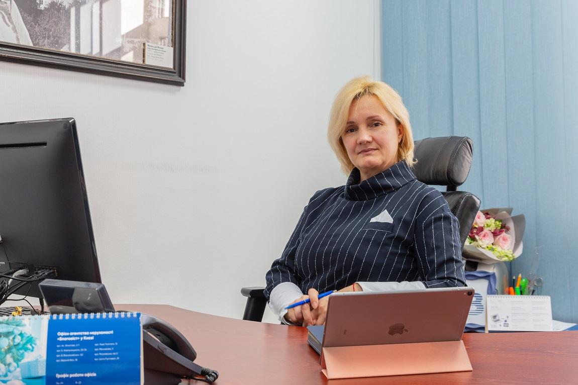 Генеральный директор АН «Благовест» Елена Биберова