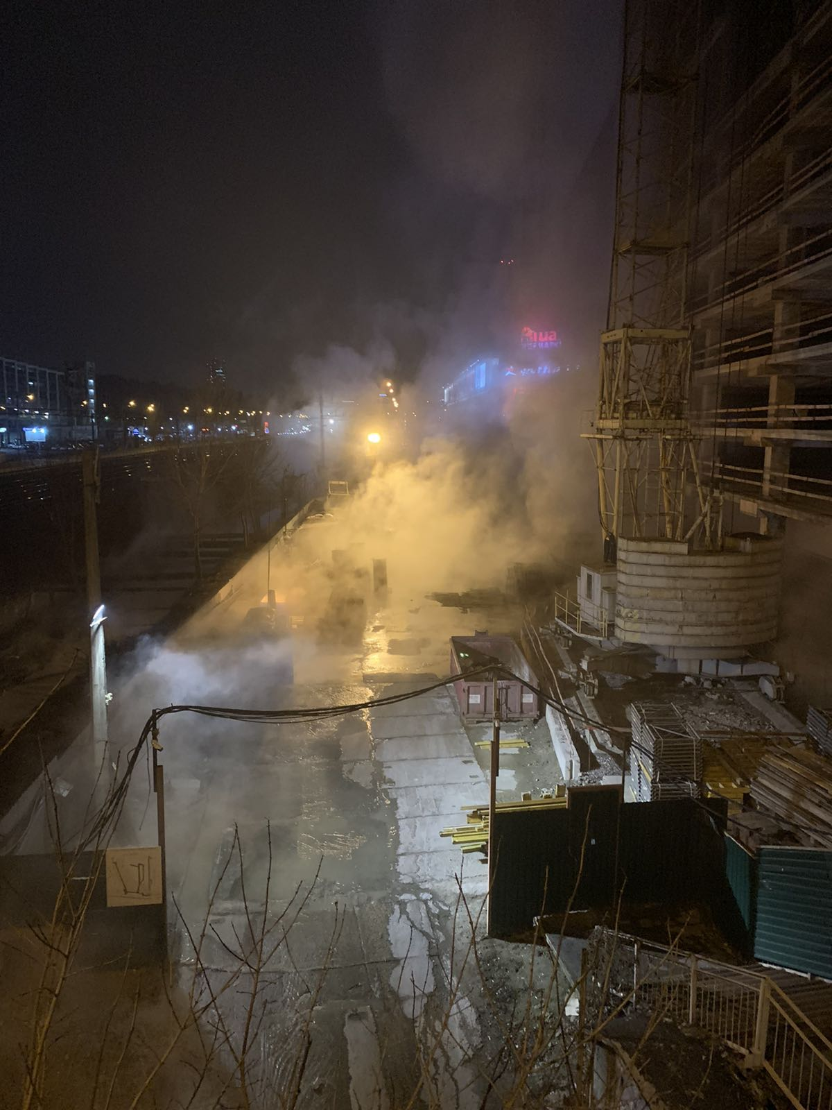 В Киеве кипятком залит ТРЦ Ocean Plaza