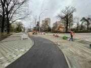 В Киеве начали ремонт тротуаров