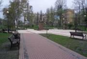 Сквер на проспекте Маяковского откроют ко Дню Киева