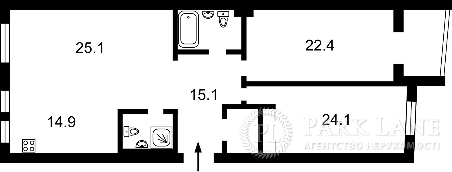 Квартира W-6741799, Коновальца Евгения (Щорса), 36, Киев - Фото 11