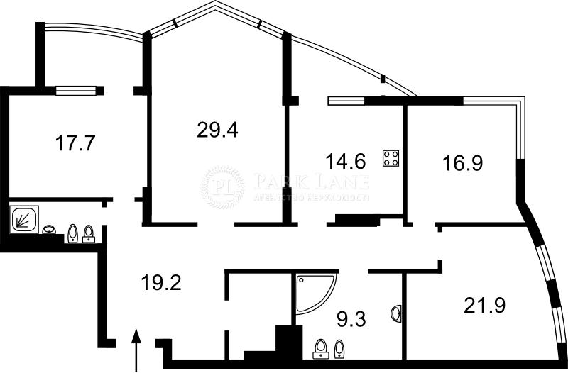 Квартира W-5030373, Лесі Українки бул., 30б, Київ - Фото 3