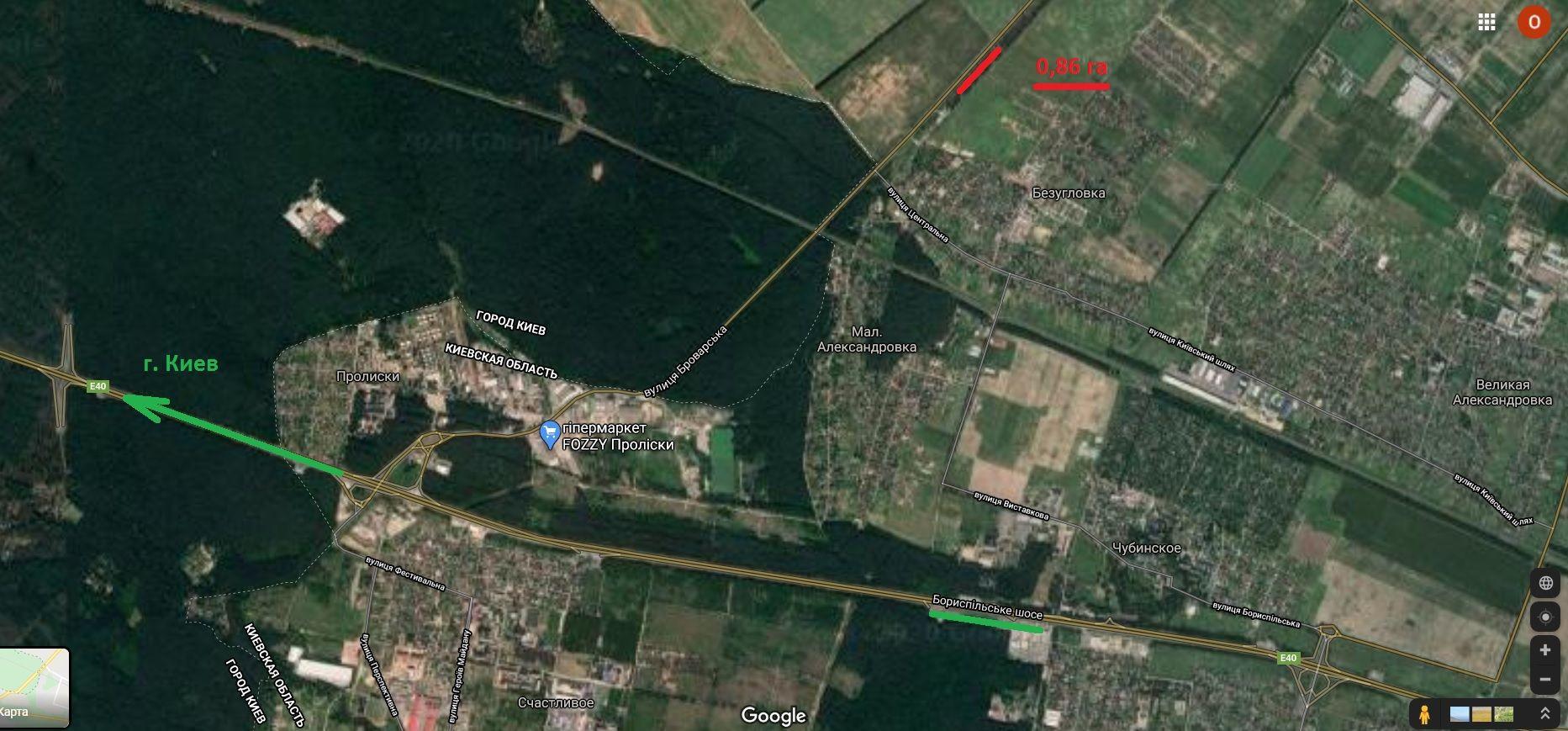 Земельный участок W-6141996, Малая Александровка - Фото 3